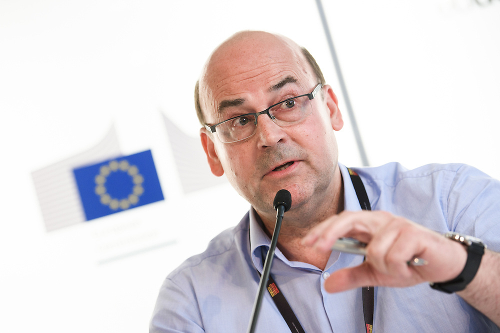 03 June 2015 - Belgium - Brussels - European Development Days - EDD - Climate - Disaster risk reduction , resilience , climate change adaptation - Connecting the dots - Marcus Oxley , Executive Director GNDR © European Union