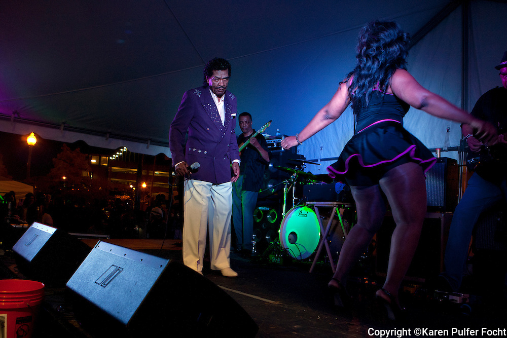 "Bobby Rush, who spent much of his life performing not the ""Chitlin Circuit"", is  one of the last great entertainers left from his era. He frequently performs at the Memphis music and Heritage Festival. These pictures were taken in 2015."