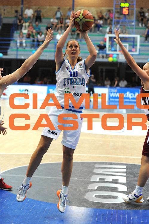 DESCRIZIONE : Latina Qualificazioni Europei Francia 2013 Italia Lettonia<br /> GIOCATORE : Lavinia Santucci<br /> CATEGORIA : sequenza tiro <br /> SQUADRA : Nazionale Italia<br /> EVENTO : Latina Qualificazioni Europei Francia 2013<br /> GARA : Italia Lettonia<br /> DATA : 30/06/2012<br /> SPORT : Pallacanestro <br /> AUTORE : Agenzia Ciamillo-Castoria/GiulioCiamillo<br /> Galleria : Fip 2012<br /> Fotonotizia : Latina Qualificazioni Europei Francia 2013 Italia Lettonia<br /> Predefinita :