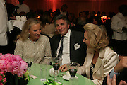 PRINCESS MICHAEL OF KENT, ARNAUD BAMBERGER AND MRS. GEORGE LIVANOS. Cartier Chelsea Flower Show dinner hosted by Arnaud Bamberger. Chelsea Physic Garden. London. 21 May 2007.  -DO NOT ARCHIVE-© Copyright Photograph by Dafydd Jones. 248 Clapham Rd. London SW9 0PZ. Tel 0207 820 0771. www.dafjones.com.