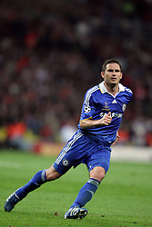 FRANK LAMPARD.CHELSEA FC.CHAMPIONS LEAGUE FINAL 2008.LUZHNIKI STADIUM, MOSCOW, RUSSIAN FEDERATION.21 May 2008.DIT77533..  .WARNING! This Photograph May Only Be Used For Newspaper And/Or Magazine Editorial Purposes..May Not Be Used For, Internet/Online Usage Nor For Publications Involving 1 player, 1 Club Or 1 Competition,.Without Written Authorisation From Football DataCo Ltd..For Any Queries, Please Contact Football DataCo Ltd on +44 (0) 207 864 9121