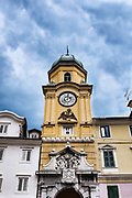 Clock Tower, Rijeka, Croatia