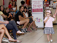 A glimpse at a fashion show at the Elder Beerman store in the Dayton Mall, Saturday, August 14. 2010..