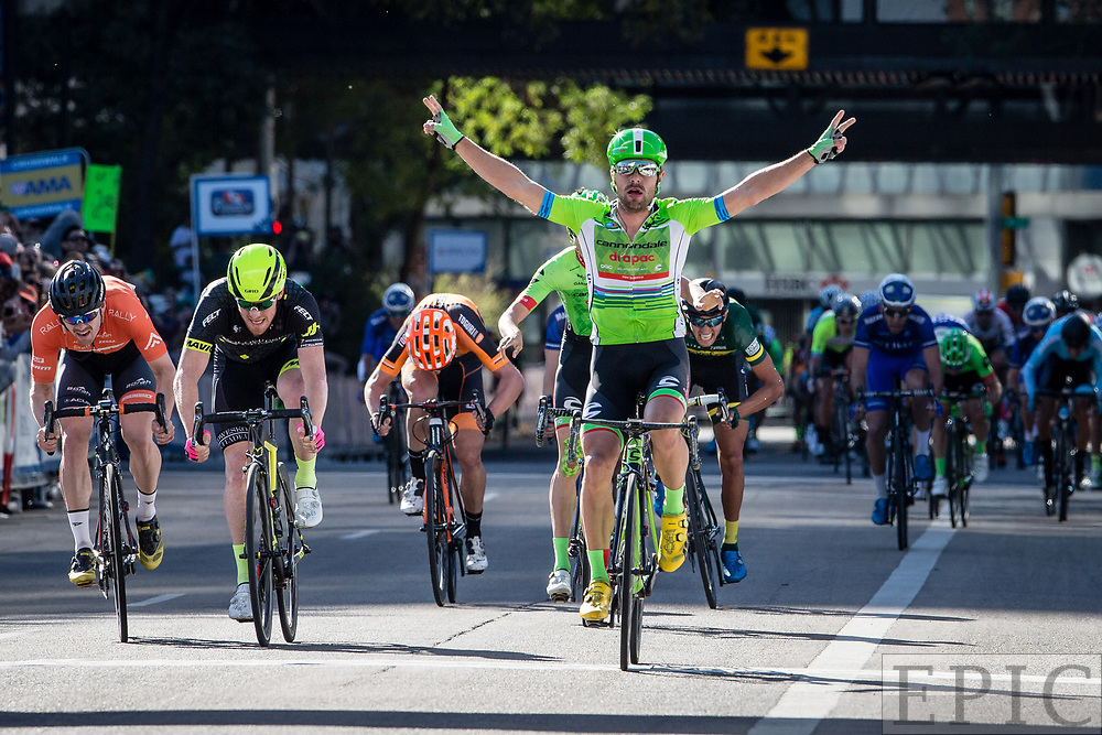 EDMONTON, ALBERTA, CAN - September 4: Wouter Wippert (Cannondale-Drapac) wins stage 4 of the Tour of Alberta on September 4, 2017 in Edmonton, Canada. (Photo by Jonathan Devich)
