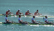 Aiguebelette, FRANCE.  GBR M4X, approaching the line. 09:40:35  Saturday  21/06/2014. [Mandatory Credit; Peter Spurrier/Intersport-images]