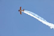 Pitts S2S aerobatics display,  Australian International Airshow 2017.