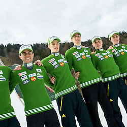 20141223: SLO, Ski Jumping - Press conference of Slovenian Ski Jumping team in Planica