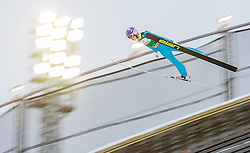 21.02.2016, Salpausselkae Schanze, Lahti, FIN, FIS Weltcup Ski Sprung, Lahti, Herren, im Bild Juho Ojala (FIN) // Juho Ojala of Finland competes during Mens FIS Skijumping World Cup of the Lahti Ski Games at the Salpausselkae Hill in Lahti, Finland on 2016/02/21. EXPA Pictures © 2016, PhotoCredit: EXPA/ JFK