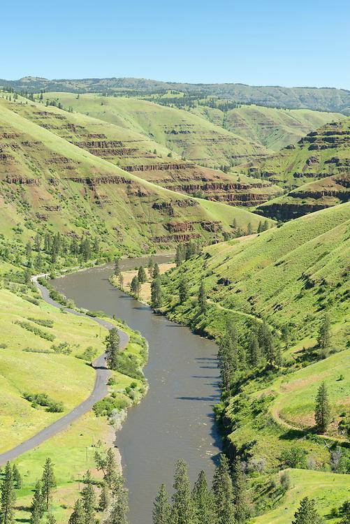 Grande Ronde River in Northeast Oregon.