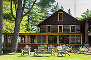 The Home Lake Lodge at Dairymen's Country Club in the Northwoods village of Boulder Junction, Wisconsin.
