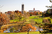 Autumn at University of Kansas (Lawrence, KS). Kansas KS USA.