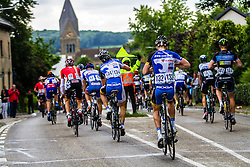 Dangerous road furniture is an everyday occurance in Dutch cycling races, Stage 3 Buchten - Buchten, Ster ZLM Toer, Buchten, The Netherlands, 20th June 2014, Photo by Thomas van Bracht / Peloton Photos