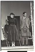 The Princess of Wales; Prince Charles, Braemar Gathering, Scotland. 3 September 1983,