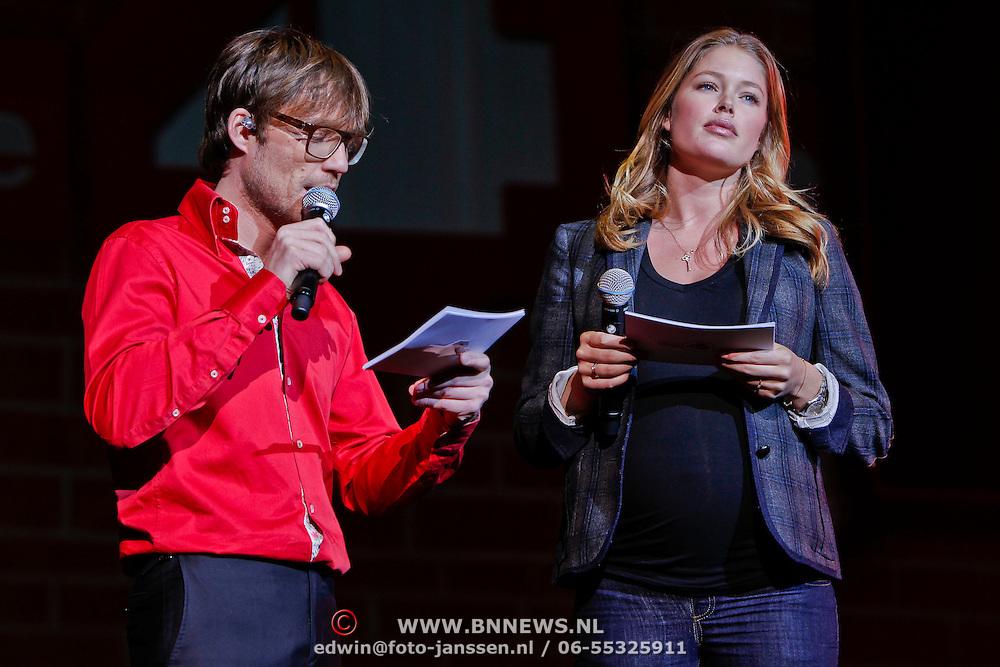 NLD/Rotterdam/20101127 - Dance for life 2010, zwangere Doutzen Kroes en Giel Beelen