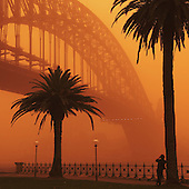Stock Photos of Sydney Dust Storm, September 2009