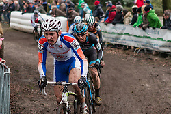 Martin Haring (SVK) of CK Banska Bystrica, Men Elite, Cyclo-cross World Cup Hoogerheide, The Netherlands, 25 January 2015, Photo by Pim Nijland / PelotonPhotos.com