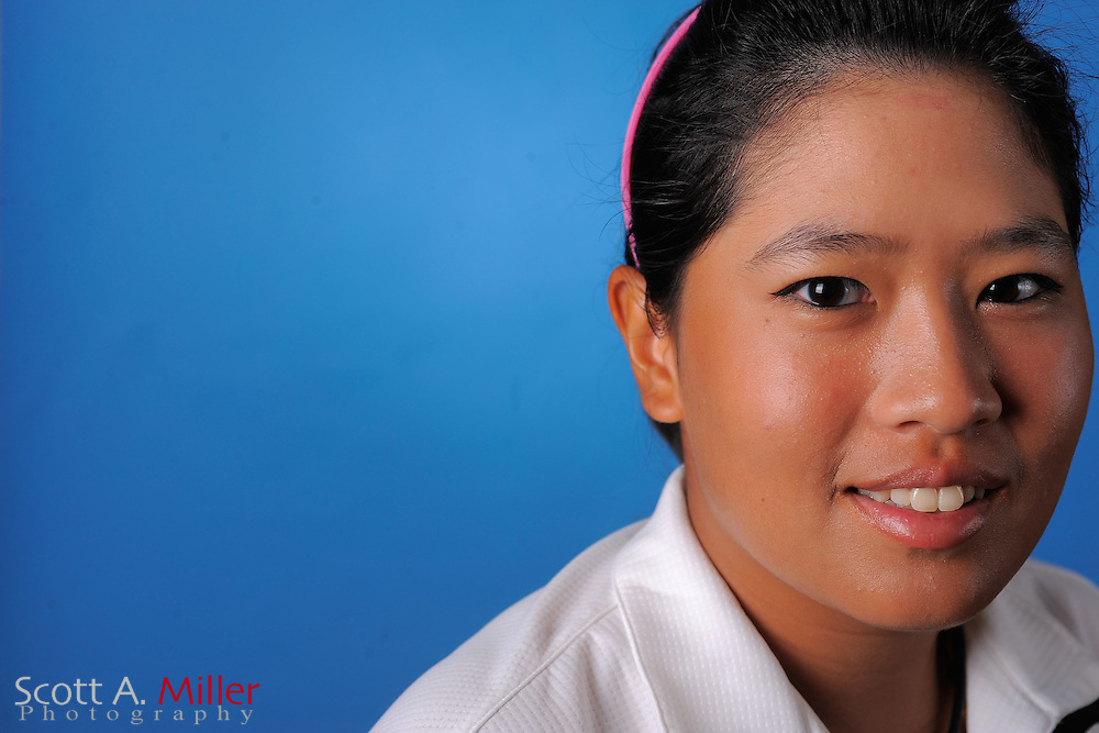 Thidapa Suwannapura during a portrait session prior to the second stage of LPGA Qualifying School at the Plantation Golf and Country Club on Sept. 25, 2011 in Venice, FL...©2011 Scott A. Miller
