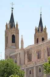THEMENBILD - Madrid ist seit Jahrhunderten der geographische, politische und kulturelle Mittelpunkt Spaniens (siehe Kastilien) und der Sitz der spanischen Regierung. Hier residieren auch der König, ein katholischer Erzbischof sowie wichtige Verwaltungs- und Militärbehörden. Als Handels- und Finanzzentrum hat die Stadt nationale und internationale Bedeutung. Hier im Bild Iglesia de San Jeronimo el Real de Madrid, erster Sitz des kastilischen Parlaments 1510 // THEMATIC PACKAGES - Madrid is the capital and largest city of Spain. The population of the city is roughly 3.3 million and the entire population of the Madrid metropolitan area is calculated to be around 6.5 million. It is the third-largest city in the European Union, after London and Berlin, and its metropolitan area is the third-largest in the European Union after London and Paris. The city spans a total of 604.3 km2. EXPA Pictures © 2014, PhotoCredit: EXPA/ Eibner-Pressefoto/ Weber<br /> <br /> *****ATTENTION - OUT of GER*****