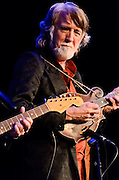 John McEuen on mandolin during the Nitty Gritty Dirt Band performance at the Landis Theater in Vineland, NJ.
