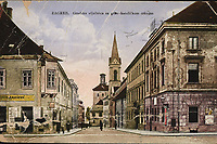 Zagreb : Gradska vijećnica sa grko-katoličkom crkvom <br /> <br /> Impresum[1930.] Rudolf Polaček, Zagreb :<br /> Materijalni opistisak ; 8,9 x 13,7 cm<br /> NakladnikRudolf Polaček<br /> Mjesto izdavanjaZagreb<br /> Vrstavizualna građa • razglednice<br /> ZbirkaZbirka razglednica • Grafička zbirka NSK<br /> ProjektPozdrav iz Hrvatske • Pozdrav iz Zagreba<br /> Formatimage/jpeg<br /> PredmetZagreb –– Trg Svetog Marka<br /> Jezikhrvatski<br /> Obuhvat(vremenski)20. stoljeće<br /> NapomenaRazglednica je putovala 1930. godine<br /> PravaJavno dobro<br /> NBN.HRNBN: urn:nbn:hr:238:124036 <br /> <br /> Izvor: Digitalne zbirke Nacionalne i sveučilišne knjižnice u Zagrebu