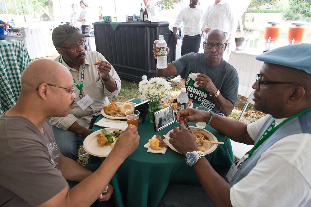 The 2016 Black Alumni Reunion hosted the Through the Decades Cookout at Tailgreat Park on Saturday, September 17, 2016.