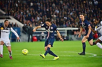 But Edinson CAVANI  - 08.05.2015 -  PSG / Guingamp - 36eme journee de Ligue 1<br />