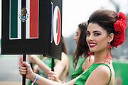 October 27-29, 2017: Mexican Grand Prix. Grid Girl