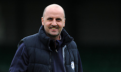 Chesterfield Manager, Paul Cook   - Photo mandatory by-line: Harry Trump/JMP - Mobile: 07966 386802 - 03/04/15 - SPORT - FOOTBALL - Sky Bet League One - Yeovil Town v Chesterfield - Huish Park, Yeovil, England.
