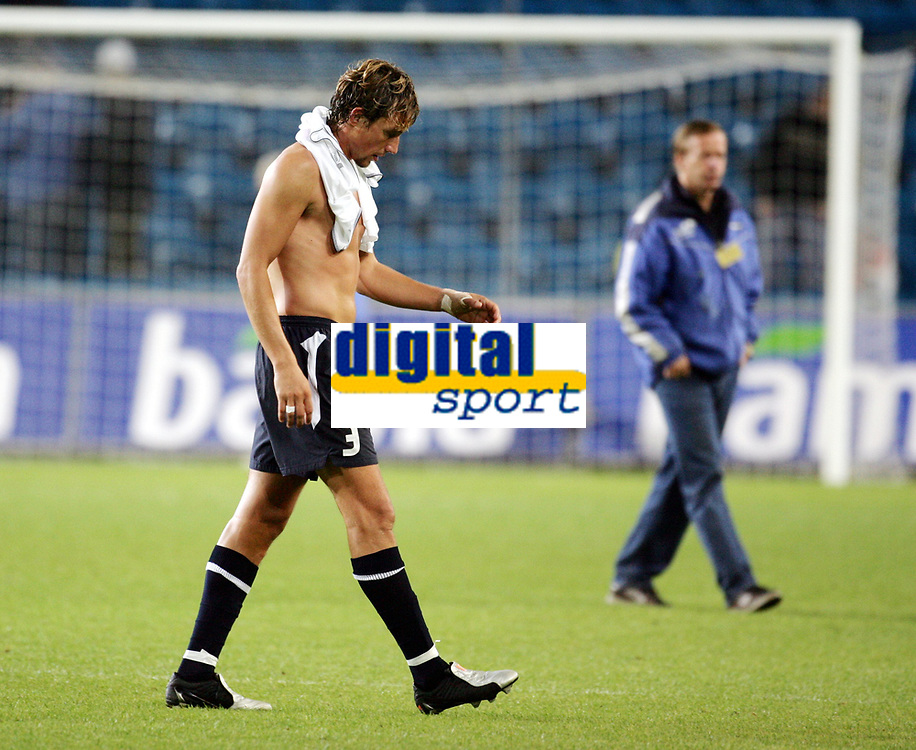 Fotball, 8. september 2004 EM kvalifisering,  Norge- Hviterussland 1-1,  Vidar Riseth, Norge
