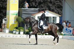 Piotrowski Juliette, (GER), Sir Diamond<br /> Grand Prix U25<br /> CDIO Hagen 2015<br /> © Hippo Foto - Stefan Lafrentz<br /> 11/07/15