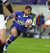26/05/2002.Sport -Rugby Union - Parker Pen Shield Final.Sale vs Pontypridd..jason Robinson   [Mandatory Credit, Peter Spurier/ Intersport Images].