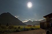 Tal Nähe Zugspitze im Mondlicht, Tirol, Österreich | valley near Zugspitze, moon light, Tirol, Austria