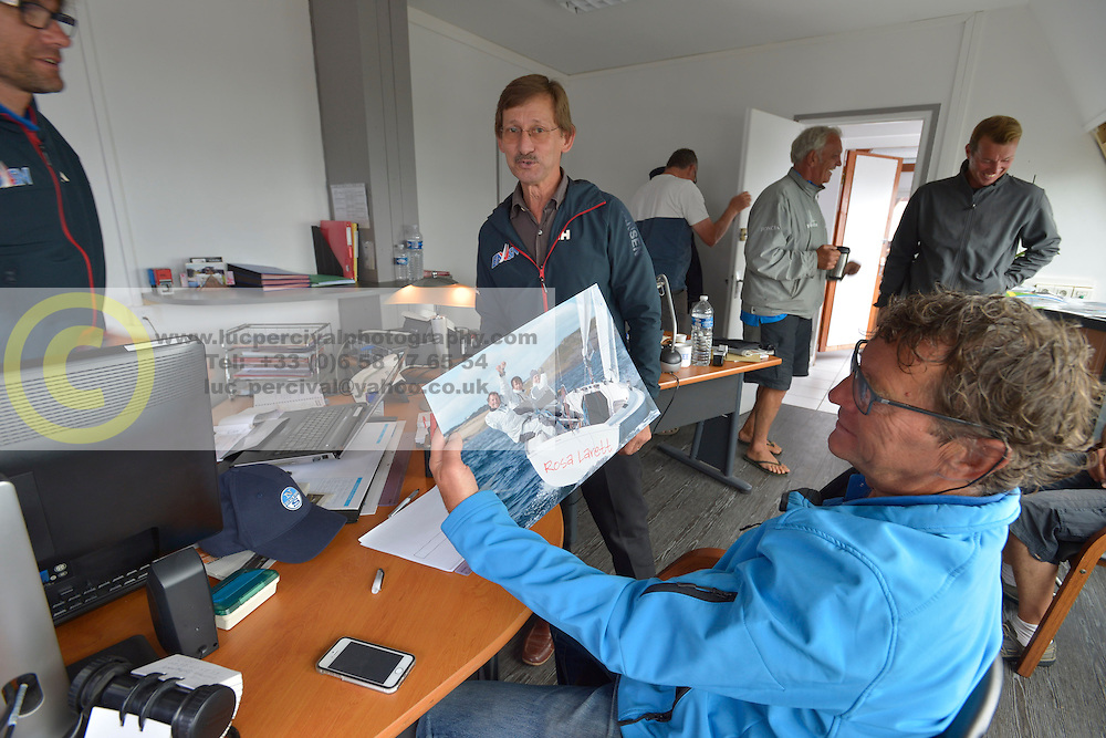 Stage d'entrainement avec l'equipe France de voile - Sonar a ENVSN, St Pierre de Quiberon