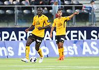fotball, tippeliga eliteserien, start, strømsgodset  15.juli, 2014<br /> Seyi Olofinjana, Start<br /> Foto: Ole Fjalsett