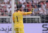 FUSSBALL  INTERNATIONAL TESTSPIEL  IN LEVERKUSEN Deutschland -  Saudi-Arabien              08.06.2018 Torwart  Abdullah Al-Muaiouf (Saudi-Arabien)