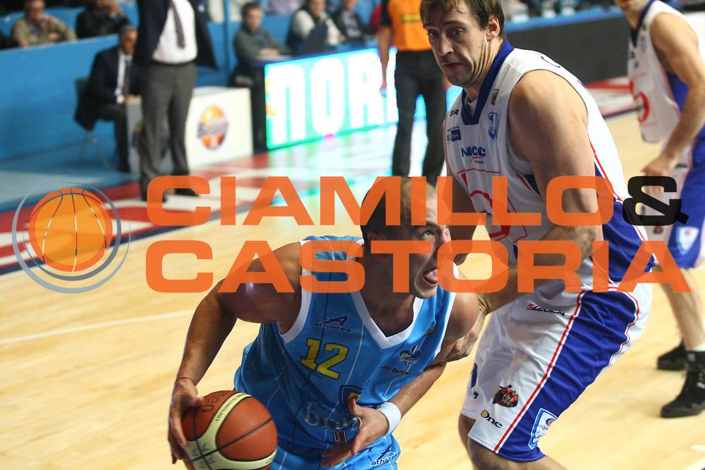 DESCRIZIONE : Cantu Lega A 2010-2011 Bennet Cantu Vanoli Braga Cremona <br />GIOCATORE : Marko Milic<br />SQUADRA : Vanoli Braga Cremona<br />EVENTO : Campionato Lega A 2010-2011<br />GARA : Bennet Cantu Vanoli Braga Cremona <br />DATA : 24/10/2010<br />CATEGORIA : Palleggio<br />SPORT : Pallacanestro<br />AUTORE : Agenzia Ciamillo-Castoria/F.Zovadelli<br />GALLERIA : Lega Basket A 2010-2011<br />FOTONOTIZIA : Cantu Campionato Italiano Lega A 2010-11 Bennet Cantu Vanoli Braga Cremona <br />PREDEFINITA :