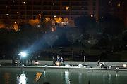 VALENCIA, SPAIN, 25TH JANUARY 2014<br /> <br /> GEORGE CLOONEY AND HUGH LAURIE FILMING IN VALENCIA.<br /> <br /> George Clooney and Hugh Laurie arrived in Valencia to start filming Disney's new science fiction film 'Tomorrowland.' <br /> The set take place in Valencia's futuristic 'City of Arts and Sciences' (Ciudad de las Artes y las Ciencas de Valencia), where crews have been preparing the sets since last December. <br /> ©Exclusivepix
