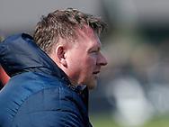 FODBOLD: Manager Anders Theil (FC Roskilde) under kampen i NordicBet Ligaen mellem FC Helsingør og FC Roskilde den 9. april 2017 på Helsingør Stadion. Foto: Claus Birch