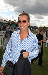 ROBERT HANSON at the Cartier International polo at Guards Polo Club, Windsor Great Park, on 30th July 2006.<br />