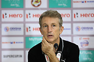 Albert Roca head coach of Bengaluru FCduring the final of the Hero Super Cup between East Bengal FC and Bengaluru FC held at the Kalinga Stadium, Bhubaneswar, India on the 20th April 2018<br /> <br /> Photo by: Arjun Singh / SPORTZPICS