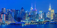 Manhattan Skyline, NYC, NY, View from RiverTrace at Port Imperial , West New York, NJ