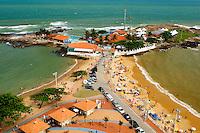 Brasil - Guarapari - Espirito Santo - Vista da Praia da Areia Preta e Praia das Castanheiras com Siribeira Iate Clube no Centro de Guarapari - Foto: Gabriel Lordello/ Mosaico Imagem