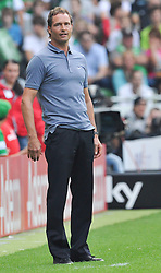20.08.2011, Weser Stadion, Bremen, GER, 1.FBL, Werder Bremen vs SC Freiburg, im Bild.Marcus Sorg (Trainer SC Freiburg).// during the Match GER, 1.FBL, Werder Bremen vs SC Freiburg on 2011/08/20,  Weser Stadion, Bremen, Germany..EXPA Pictures © 2011, PhotoCredit: EXPA/ nph/  Kokenge       ****** out of GER / CRO  / BEL ******