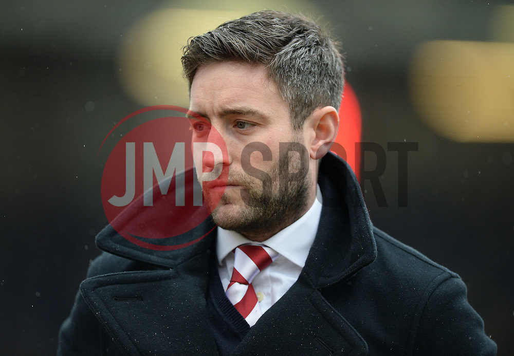Bristol City head coach, Lee Johnson - Mandatory byline: Alex James/JMP - 13/02/2016 - FOOTBALL - Ashton Gate - Bristol, England - Bristol City v Ipswich Town - Sky Bet Championship