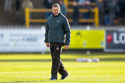Castleford Tigers head coach Daryl Powell  prior to the Betfred Super League match between Castleford Tigers and Widnes Vikings at the Jungle, Castleford, United Kingdom on 11 February 2018. Picture by Simon Davies.