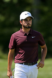 September 2, 2018 - Norton, Massachusetts, United States - Abraham Ancer walks off the 3rd green during the third round of the Dell Technologies Championship. (Credit Image: © Debby Wong/ZUMA Wire)
