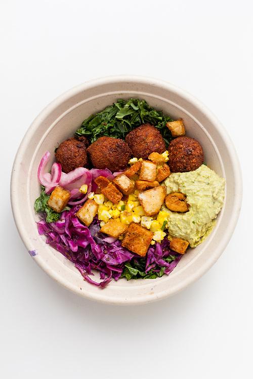 Falafel Kale Salad from Noon Mediterranean ($3.46)