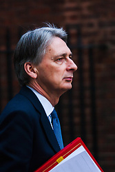 Downing Street, London, January 20th 2015. Ministers attend the weekly cabinet meeting at Downing Street. PICTURED: Foreign Secretary Philip Hasmmond