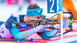 16.01.2020, Chiemgau Arena, Ruhpolding, GER, IBU Weltcup Biathlon, Sprint, Herren, im Bild Emilien Jacquelin (FRA) // Emilien Jacquelin of France during the men's sprint competition of BMW IBU Biathlon World Cup at the Chiemgau Arena in Ruhpolding, Germany on 2020/01/16. EXPA Pictures © 2020, PhotoCredit: EXPA/ Stefan Adelsberger