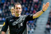 ALKMAAR - 01-05-2016, AZ - de Graafschap, AFAS Stadion, 4-1, scheidsrechter Dennis Higler